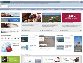 visitalgarve.pt screenshot