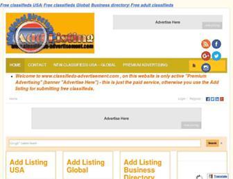 Thumbshot of Classifieds-advertisement.com