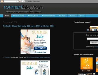 Thumbshot of Ronmartblog.com