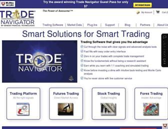 tradenavigator.com screenshot