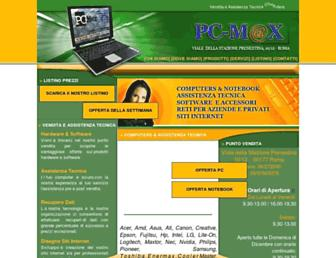 pcmaxroma.com screenshot