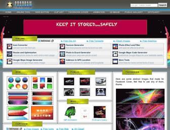 Main page screenshot of prodraw.net