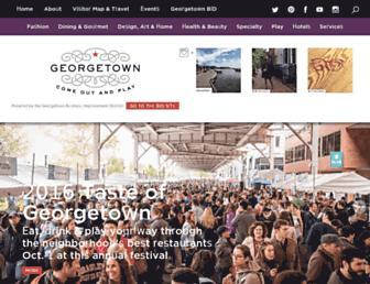 georgetowndc.com screenshot