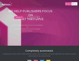 Thumbshot of Adhexa.com