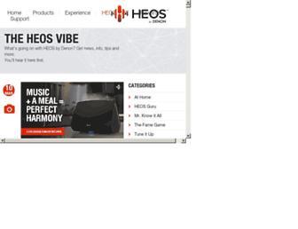 heosvibe.denon.com screenshot