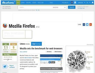 mozilla-firefox.en.softonic.com screenshot