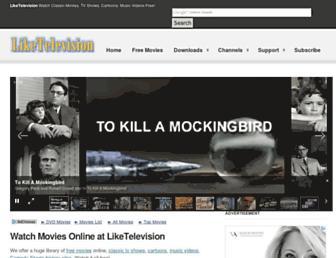 tesla.liketelevision.com screenshot