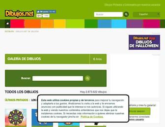 galeria.dibujos.net screenshot