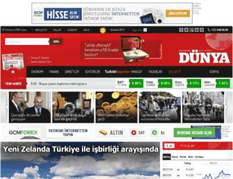 dunya.com screenshot