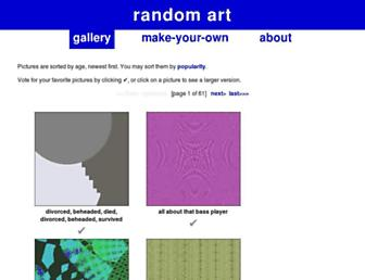 random-art.org screenshot