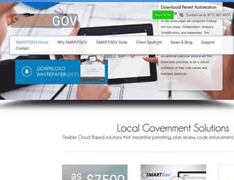 smartgovcommunity.com screenshot