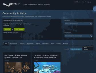 Thumbshot of Steamcommunity.com
