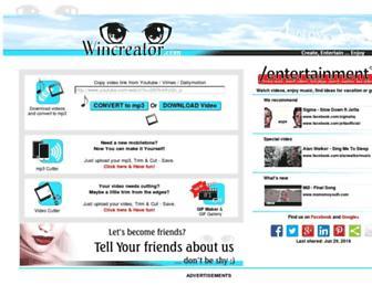 wincreator.com screenshot