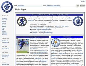 thechels.info screenshot