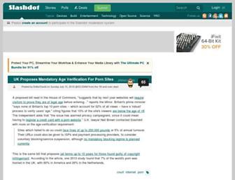 tech.slashdot.org screenshot