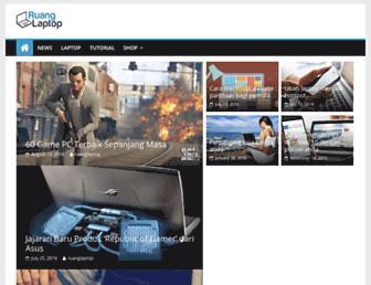 ruanglaptop.com screenshot