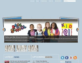 Main page screenshot of tempe.gov