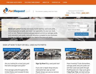 partrequest.com screenshot