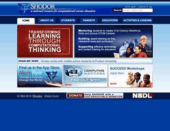 shodor.org screenshot