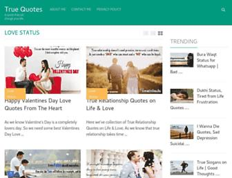 mytruequotes.com screenshot