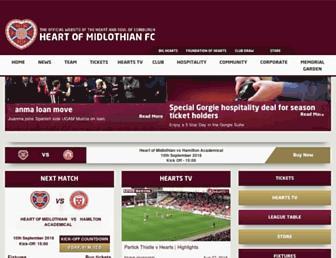 Thumbshot of Heartsfc.co.uk