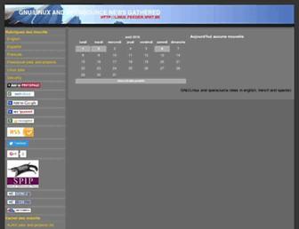linux.feeder.ww7.be screenshot