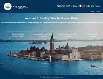 Thumbshot of Vfs-italy.co.in