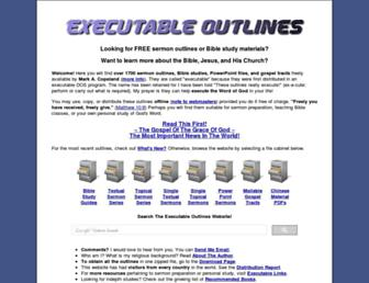 executableoutlines.com screenshot