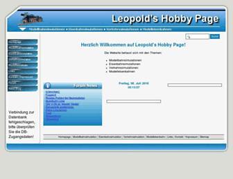 wleopold.ch screenshot