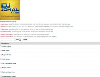 djjohal.net screenshot