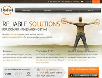 Thumbshot of Realtimeregister.com