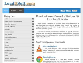 loaditsoft.com screenshot