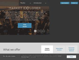 eiu.com screenshot