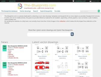the-blueprints.com screenshot