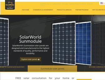 solarworld-usa.com screenshot