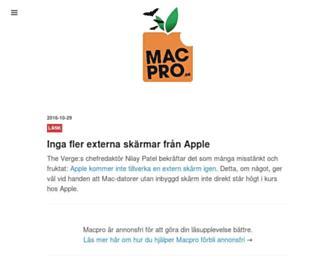 macpro.se screenshot