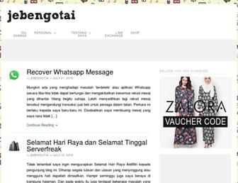 jebengotai.com screenshot