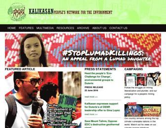 kalikasan.net screenshot