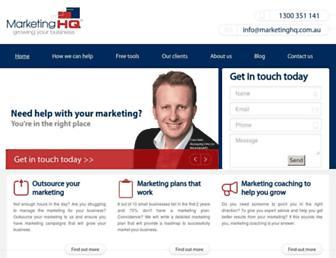 marketinghq.com.au screenshot