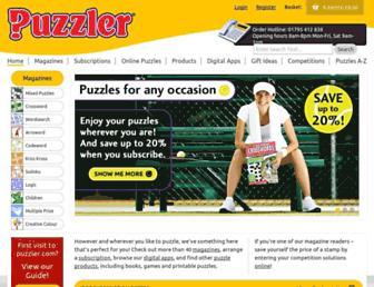 puzzler.com screenshot