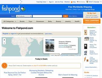 fishpond.com screenshot