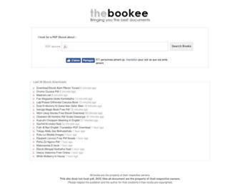 thebookee.net screenshot