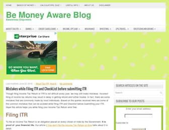 bemoneyaware.com screenshot