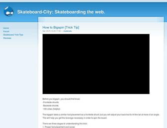 skateboard-city.com screenshot