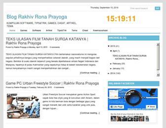 rakhivrona.blogspot.com screenshot