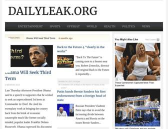 Thumbshot of Dailyleak.org