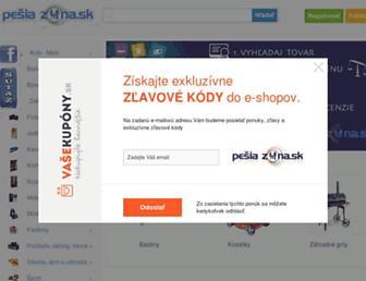 Thumbshot of Pesiazona.sk