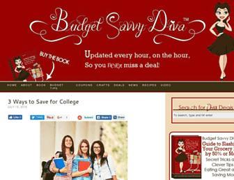 Thumbshot of Budgetsavvydiva.com