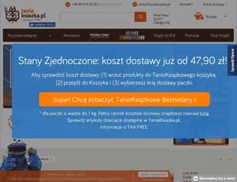taniaksiazka.pl screenshot