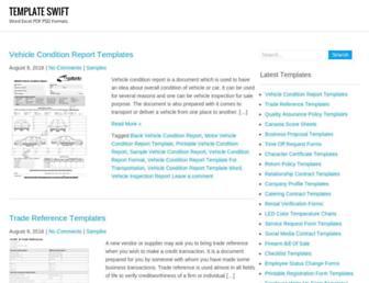 templateswift.com screenshot